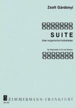 Gardonyi Zsolt - Suite Sur Des Chansons Populaires Hongrois - Clarinette and Piano