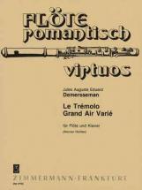 Demerssemann Jules - Tremolo, Grand Air Varie - Flute A Bec, Piano
