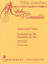 Tulou Jean-louis - 2 Fantaisies Op.30 & 36 - Flute & Piano