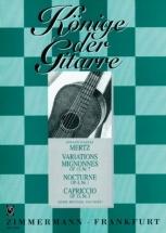 Mertz J.k. - Variations Mignonnes, Nocturne, Capriccio - Guitare Seule