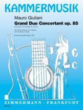 Giuliani M.  - Grosse Sonate Op. 85 - Flute (violon) Et Guitare