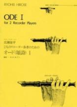 Hirose R. - Ode I - Recorder Ensemble