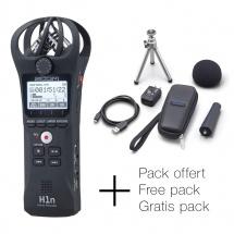 Zoom H1n Noir + Pack Accessoires Gratuit