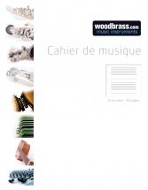 Cahier De Musique 12 Portees 48 Pages