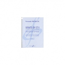 Decruck Fernande - Sonate En Ut # - Saxophone Alto, Piano