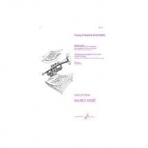 Haendel Georg-friedrich - Sonate En Fa Majeur - Cor Et Piano