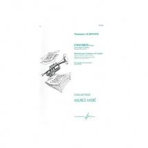 Albinoni Tommaso - Concerto En Sib - Trompette Et Piano
