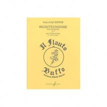 Doppler Franz - Rigoletto Fantaisie Opus 38 Duo Concertant - 2 Flutes Piano
