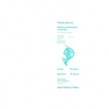 Gounod Charles - 6 Pieces Melodiques Originales Vol.1 - Cor, Piano