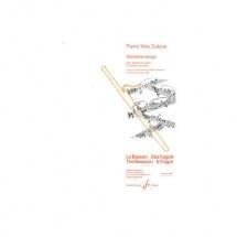 Dubois Pierre-max - Sonatine Tango - Basson Et Piano