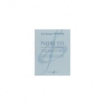 Werner Jean-jacques - Psaume Viii - Reduction Pour Choeur Et Orgue