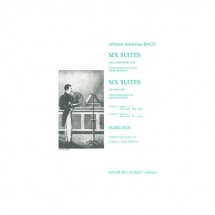Bach Jean-sebastien - Six Suites Volume 2 - Suites 4.5.6. - Cor Seul