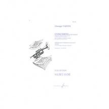 Tartini Giuseppe - Concerto En Re Majeur - Trompette Et Piano