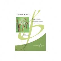 Escaich Thierry - Tango Virtuoso - 4 Saxophones (quatuor)