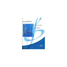 Proust Pascal - Prelude Et Danse - Flute, Piano
