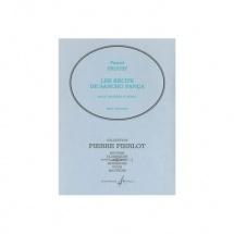 Proust Pascal - Les Recits De Sancho Panca - Hautbois Et Piano