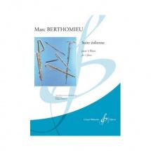 Berthomieu Marc - Suite Eolienne - 4 Flutes