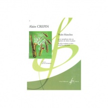 Crepin Alain - Nuits Blanches - Saxophone Mi B Et Piano