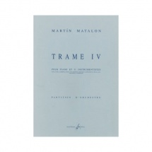 Matalon Martin - Trame Iv