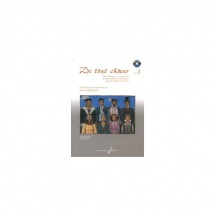 Magnan Herve - De Tout Ch?ur Volume 3 + Cd - Formation Musicale