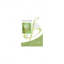 Lussier Mathieu - Recit Et Lied Opus 31 - Saxophone Mi B Et Piano