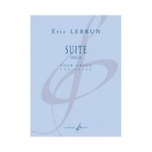Lebrun Eric - Suite Opus 18 - Orgue Seul