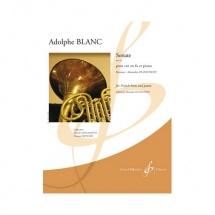 Blanc Adlophe - Sonate Opus 43 - Cor Et Piano