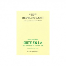 Albinoni Tommaso - Suite En La - 2 Trompettes, Cor, Trombone, Tuba
