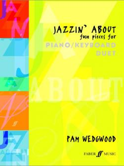 Wedgwood Pam Jazzin About Piano Duet