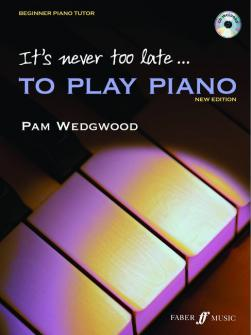 Wedgwood Pam Its Never Too Late To Play Piano Cd Piano
