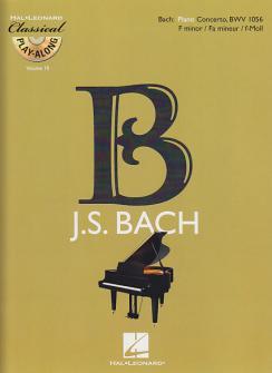 Bach J.s. - Concerto En Fa Mineur Bwv 1056 + Cd - Piano