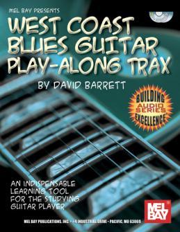 Barrett David - West Coast Blues Guitar Play-along Trax + Cd - Guitar
