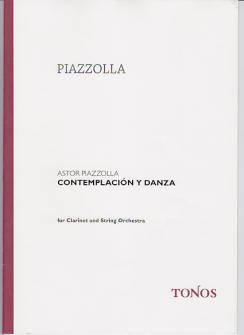 Piazzolla A. - Contemplacion Y Danza - Conducteur