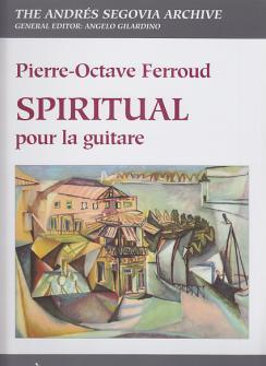 Ferroud P. O. - Spiritual - Guitare