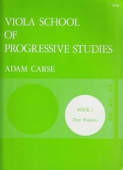Carse Adam - Viola School Of Progressive Studies Vol.2
