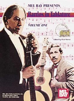 Stover Rico - Barrios In Tablature, Volume 1 + Cd - Guitar