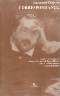 Chabrier Emmanuel - Correspondance