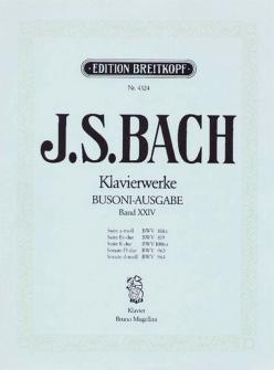 Bach J.s. - Suiten Und Sonaten - Piano