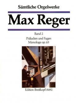 Reger M. - Integrale Pour Orgue Vol.2