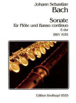 Bach J.s. - Sonate E-dur Bwv 1035 - Flute, Basse Continue
