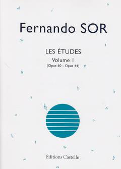 Fernando Sor - Les Etudes Volume 1 (op.60 - Op.44) - Guitare