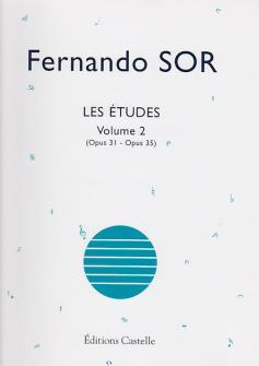 Fernando Sor - Les Etudes Volume 2 (op.31 - Op.35) - Guitare