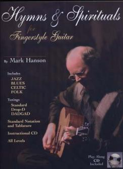 Hanson Mark - Hymns & Spirituals For Fingerstyle + Cd - Guitar Tab