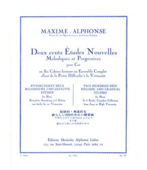 Maxime-alphonse - 200 Etudes Vol.3 - Cor