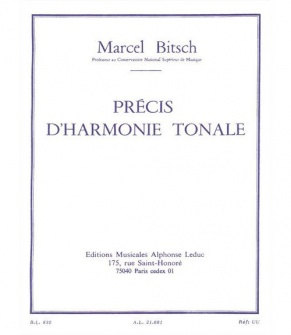Bitsch Marcel - Precis D'harmonie Tonale