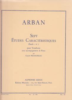 Arban / Pichaureau - Sept Etudes Caracteristiques