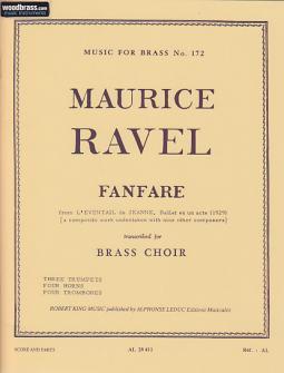 Ravel M./king - Fanfare - Conducteur Et Parties