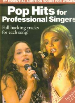 Pop Hits For Professional Singers + Cd - Pvg