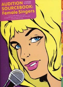 Audition Sourcebook Female Singers + 2cd
