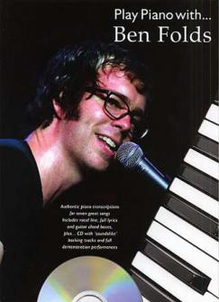 Ben Folds - Play Piano With + Cd - Pvg